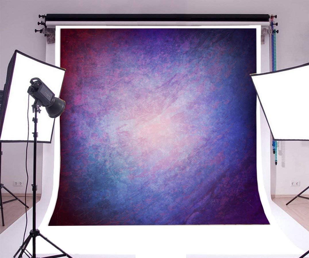 Mmptn Grunge 6x9ft Hintergrund Abstrakt Unschärfe Farbverlauf Lila Bunt Kind Mann Junge Mädchen Erwachsener Youngster Künstlerisches Porträt Fotoshooting Studio Video Back Drop Wallpaper