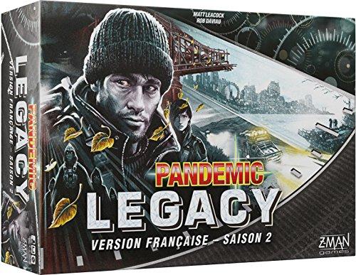 Pandemic Legacy – Juego de Mesa – Juego de Mesa – Asmodee – Juego de Mesa – Juego de Mesa – Juego cooperativo