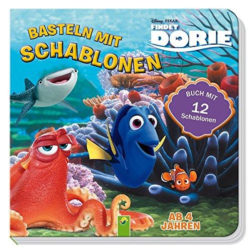 Findet Dorie - Basteln mit Schablonen: Buch mit 12 Schablonen