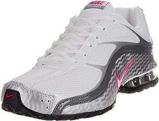 Women's Reax Run 5, Running, White/Grey, M (7.5, White/Metallic Silver/Dark Grey)