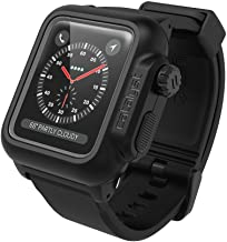 Waterproof Apple Watch Case 38mm Series 3 & 2 with Premium Soft Silicone Apple Watch Band by Catalyst, Shock Proof Impact Resistant (not Compatible with The 42mm iWatch)