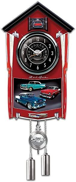 Chevy Bel Air Cuckoo Clock By The Bradford Exchange