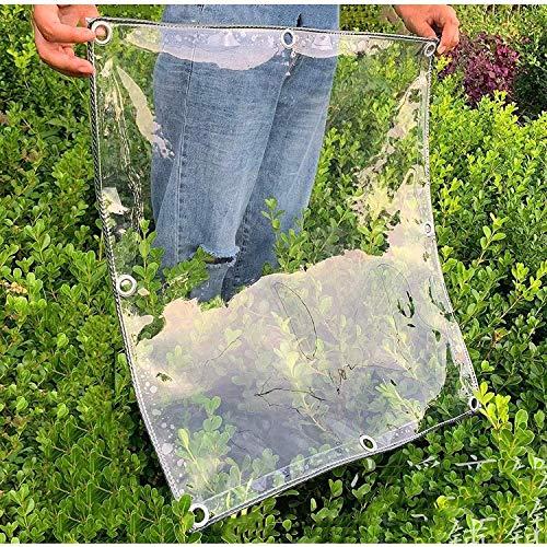 FOBFLO Carpa Exterior de plástico, Aislamiento, A Prueba de Polvo, A Prueba de Lluvia, Cubierta Impermeable para Plantas, Invernadero, Plástico, Transparente