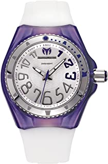 TechnoMarine Unisex 110056 Cruise Original Beach Silver/Purple Interchangeable Strap Watch