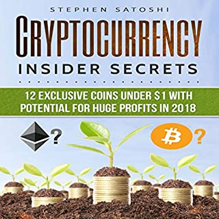 Cryptocurrency: Insider Secrets audiobook cover art