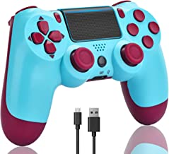 TOPAD for PS4 Controller, Wireless Controller for PS...