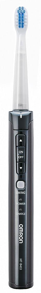 保証する司教ライターOMRON オムロン音波式電動歯ブラシ メディクリーン HT-B453-K ブラック
