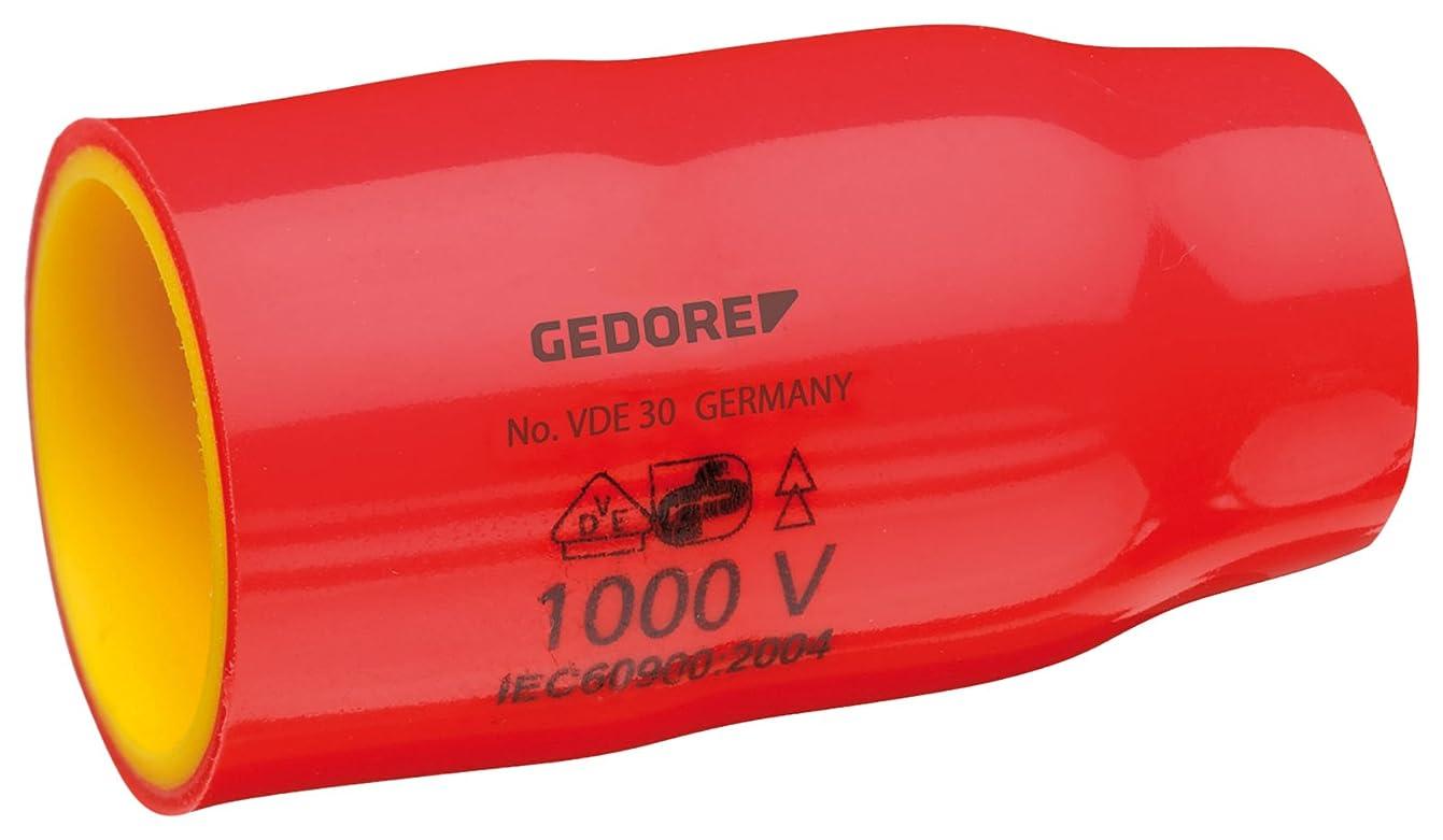 価格葉を集める春ゲドレー(Gedore) ソケットレンチ 絶縁ソケットレンチ 3/8 対辺13mm VDE 30 13