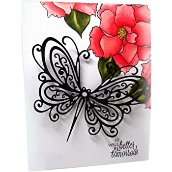 Fly Butterfly DIY Metal Cutting Dies Stencil Scrapbooking Album Paper Card Craft