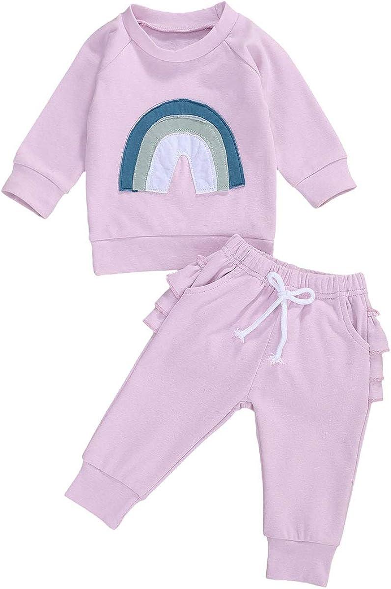 Newborn Toddler Baby Girl Boys Autumn Clothes Cute Baby Kid Long Sleeve Cotton