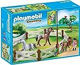 Playmobil-6931 Competición Doma, Color marrón/Blanco (6931)