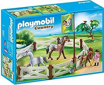 PLAYMOBIL Horse Paddock Building Set