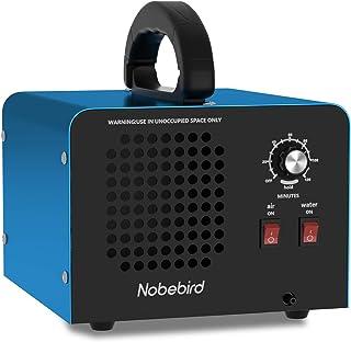 Generador de Ozono, Purificador de Aire, 28,000 MG/h Ozonizador con Temporizador, 2 Modos de Purificación de Aire/Agua, Pu...