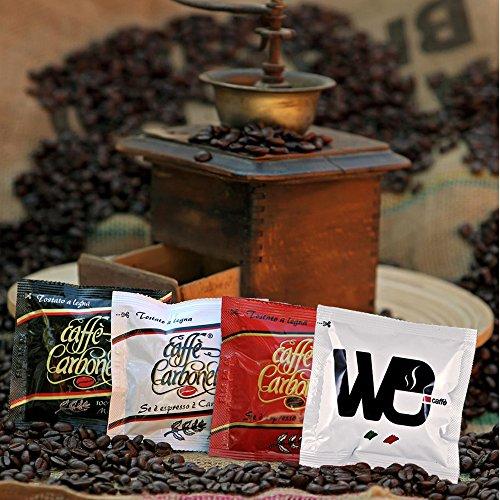 Ese Kaffeepad Probierset: Espresso - Ristretto - 100 % Arabica - Napoletano | 100 x 7 g