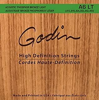 Best godin a6 lite strings Reviews