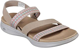 Skechers On The Go Luxe Ixtapa 女士自然凉鞋
