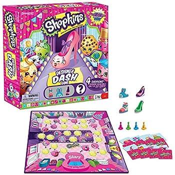 Shopkins Designer Dash Game - Includes 4 Shop | Shopkin.Toys - Image 1
