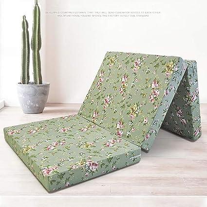Folding Matratze Atmungsaktive Kaltschaummatratze Verdicken Sie Matratzenauflage Portable Matratzenpolster F/ür Dorm-a 90x190cm 35x75inch Love House Tatami-Boden Isomatte