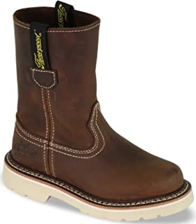 Thorogood Kids' Duke Youth Wellington Mud Pie Brown