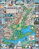 Puzzle 1000 Teile Erwachsene Puzzle Holzpuzzle Klassisches 3D Puzzle Washington, D.C Diy Collectibles Kreuzworträtsel Spiel Moderne Wohnkultur Kinder Einzigartiges Geschenk Spielzeug 75X50Cm
