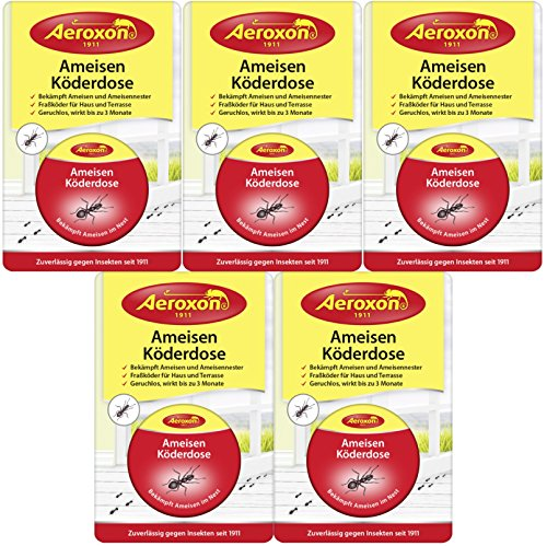 Aeroxon Ameisen Köderdose (5er Pack)