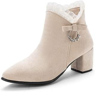 BalaMasa Womens ABS14022 Pu Boots