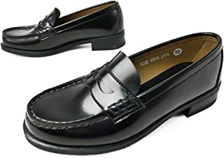[ハルタ] 4505 革靴 コインローファー ペニー レディース