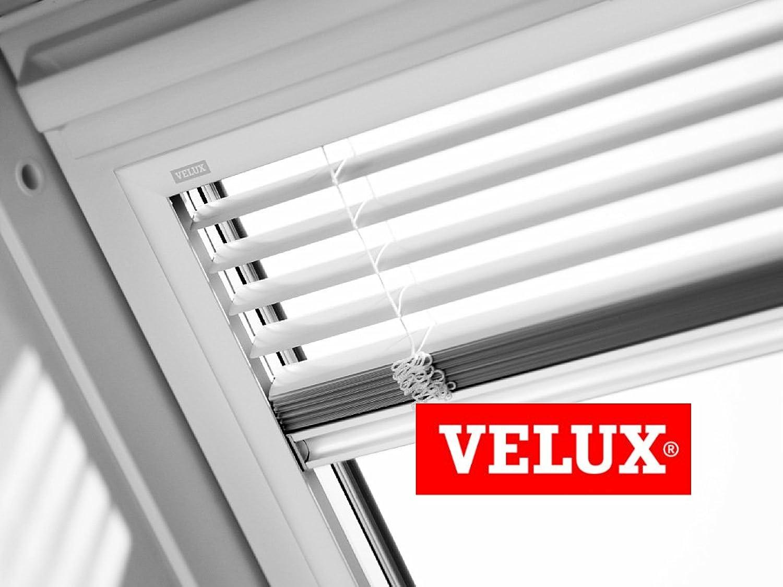 VELUX 9150 Jalousie für Dachfenster, matt, Wei GGL C02