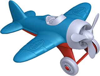 Green Toys Airplane – BPA, Phthalates Free, Blue Air Transport Toy for Introducing..