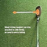 Regun Golf Winkel -Gelbe Golf Magnetic Club-Alignment-Stick Demonstriert Correct Golf Swing Ziel Gesicht Aimer Alignment-Ausbildungshilfe-Schwingen -