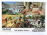 Cala Ratjada, Mallorca, Aparthotel Diamant, 4 Ansichten, Spanien, AK, gelaufen 1994