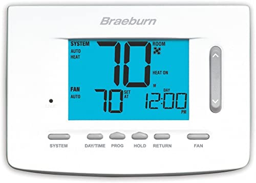 2021 BRAEBURN 5220 popular Thermostat, Universal 7, 5-2 Day or Non-Programmable, online 3H/2C online