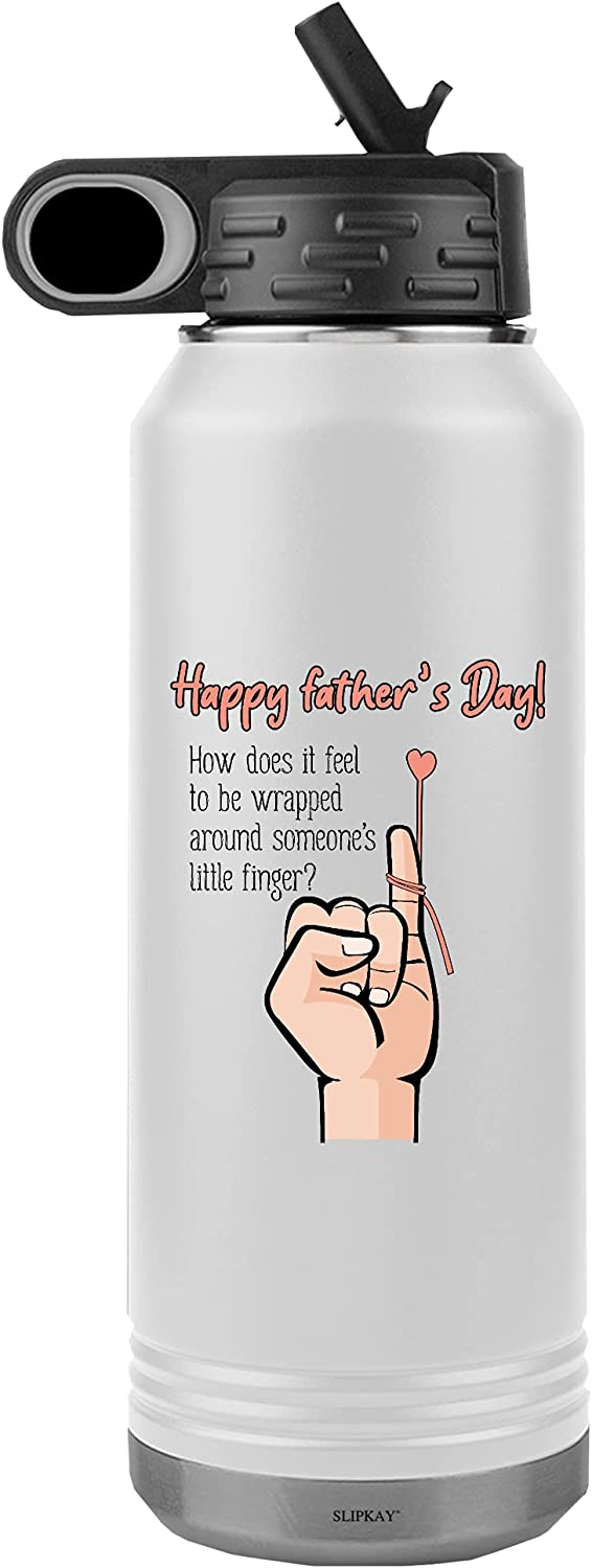 Wrapped Around Max 64% OFF A Little Finger Fathers Day Superior Water 32oz Tumbler Bo