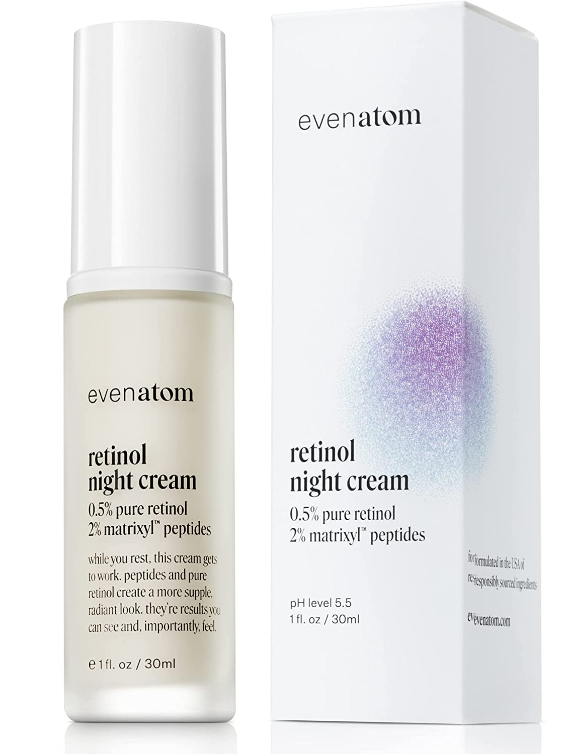 Retinol OFFicial store Cream for Face - Ag free Anti Moisturizer 0.5%