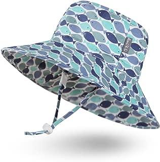 Adjustable Sunscreen Bucket Sun Protection Summer Hat for Baby Girl Boy Infant Kid Toddler Child UPF 50