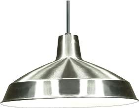 Nuvo Lighting SF76/661 Warehouse Shade, Antique Brushed Nickel