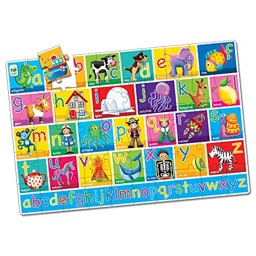 The Learning Journey: Jumbo Floor Puzzles - Alphabet - Extra Large Puzzle Measures 3 ft by 2 ft - Preschool Toys & Gifts for Boys & Girls Ages 3 and Up (436318)