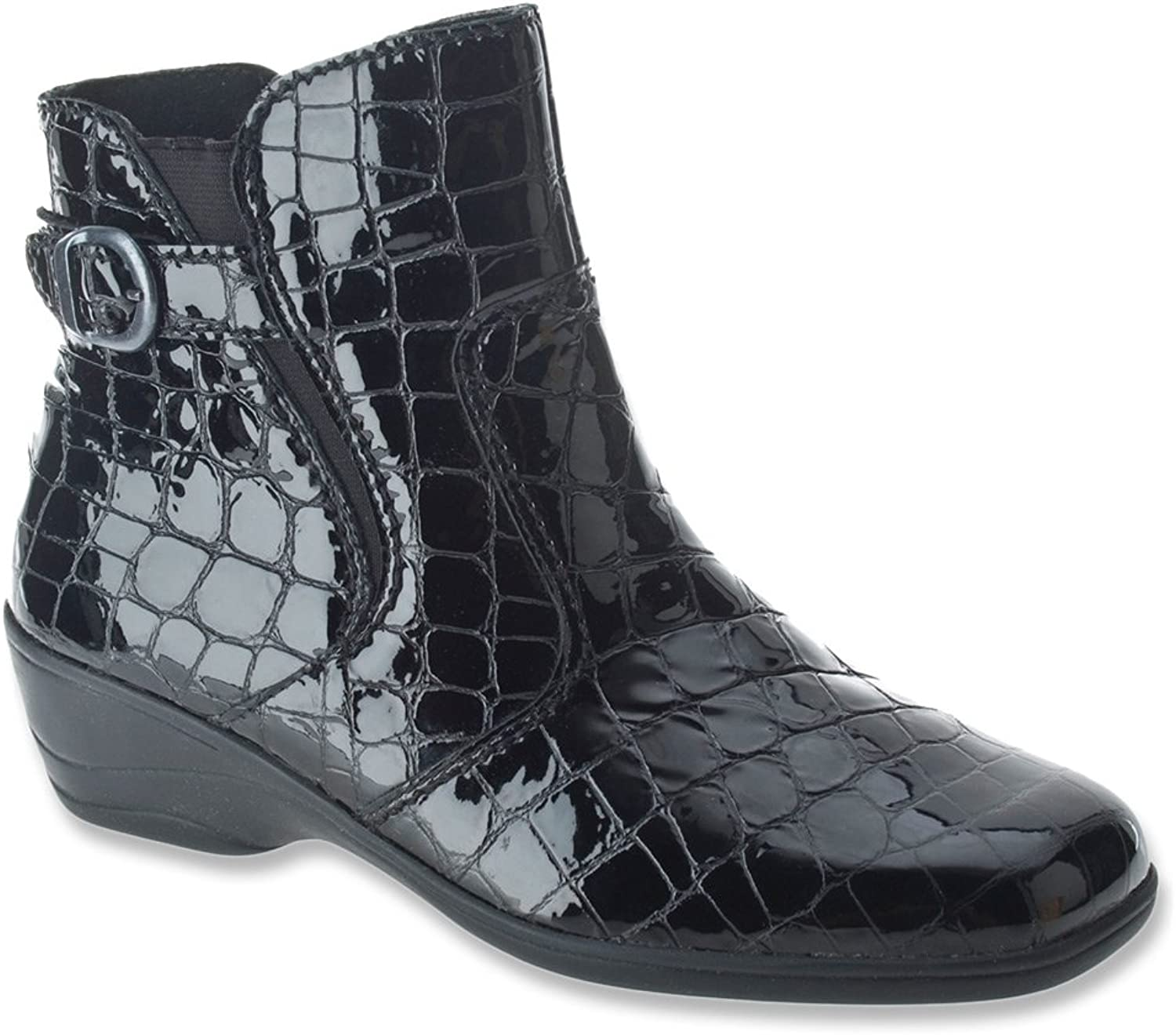 Spring Step Women's Jacey II Ankle Boot Black boots 41 M