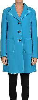 IL CAPPOTTINO Luxury Fashion Womens MCGLCSC000006073I Light Blue Coat   Season Outlet