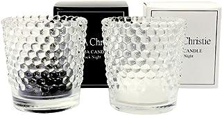 [ララクリスティー] LARA Christie ホワイトナイト& ブラックナイト アロマキャンドル [ PAIR Label ] a0011-p