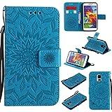 KKEIKO Galaxy S5 Case, Galaxy S5 Flip Leather Case,