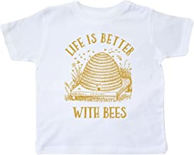 inktastic - Life's Better with Bees Toddler T-Shirt 26be7