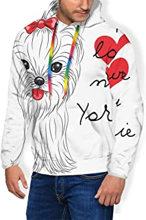 Men's Hoodie Thicken Fluff Sweatshirt,Love of Nature Theme Children Kids Pattern with Exotic Zoo Comic Characters