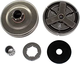 AISEN 3//8 6Z Chain Wheel with Oil Pump Drive Screw for Stihl 021 023 025 MS210 MS230 MS250 MS180 MS170 018 017 Chainsaw