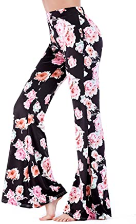 MILIMIEYIK Womens Yoga Office Pants Dress Work Slacks Business Casual Trousers,High Waisted,Stretch,Flare