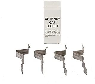 HY-C SCLK Chimney Cap Leg Kit, Stainless Steel