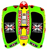 WOW World of Watersports 13-1010, Big Bazooka 1 to 4 Person, Inflatable Towable...