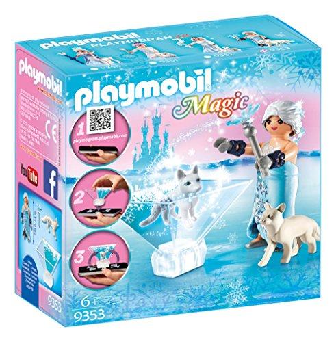 Playmobil 9353 Magic Playmogram 3D Winter Blossom Princess