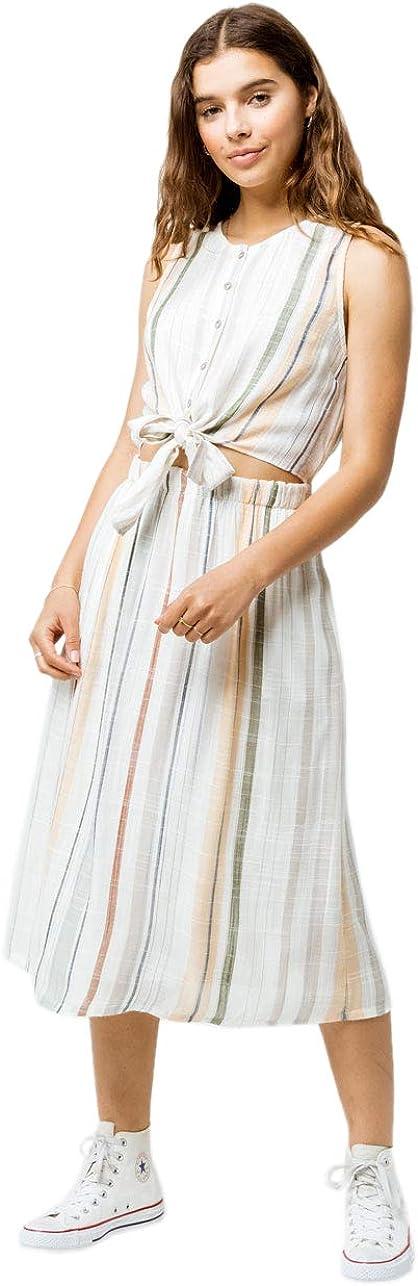 RVCA Women's Arizona Fitted Midi Dress