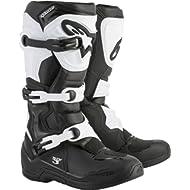 Alpinestars Tech 3 Motocross Off-Road Boots 2018 Version Men's Black/White Size 9